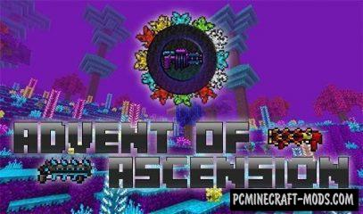 Advent of Ascension (Nevermine) Mod For Minecraft 1.12.2, 1.7.10