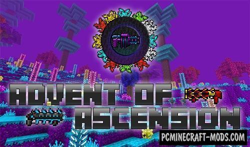 Advent of Ascension (Nevermine) Mod For Minecraft 1.12.2
