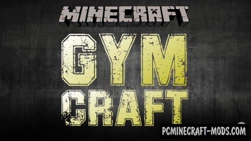GymCraft - Sport Furniture Mod For Minecraft 1.15.2, 1.14.4