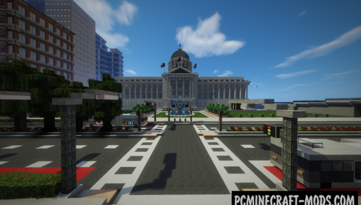 The City of Dustworks Map For Minecraft