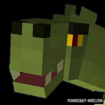 Lizard Doggo - Creature Mod For Minecraft 1.15.1, 1.14.4
