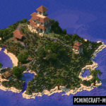 Survival Island OCean Map For Minecraft