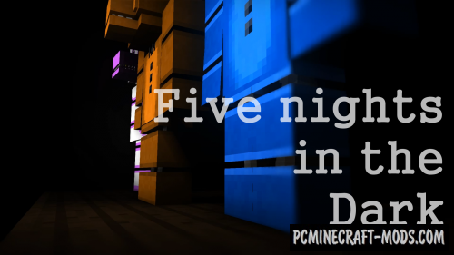 Five Nights in the Dark Map For Minecraft