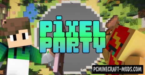 Pixel Party Map For Minecraft