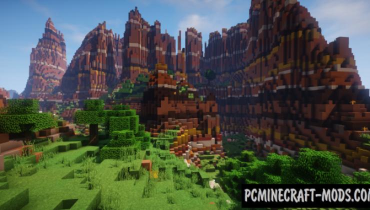 Tortured Valley Map For Minecraft