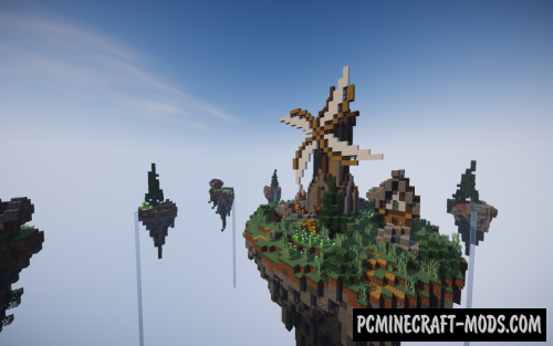 Small Medieval Skywars Map For Minecraft