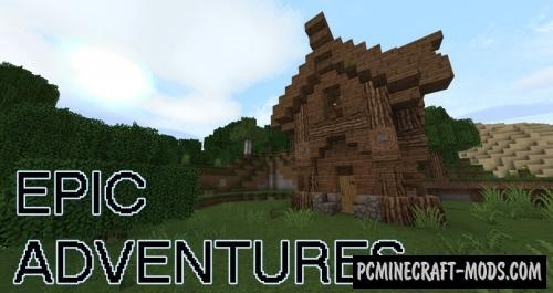 Epic Adventures 32x Resource Pack For Minecraft 1.16.3, 1.16.2