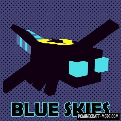 Blue Skies Mod For Minecraft 1.12.2