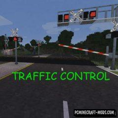 Traffic Control - City Decor Mod For Minecraft 1.12.2