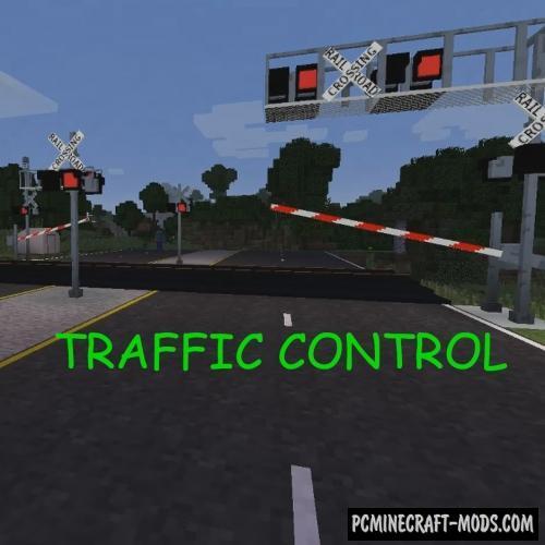 Traffic Control - City Decor Mod For Minecraft 1.12.2
