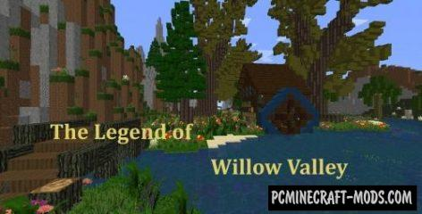 The Legend of Willow Valley Map For Minecraft