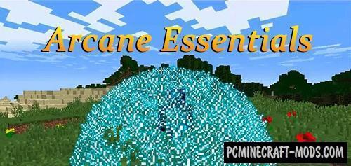 Arcane Essentials - Magic Weapon Mod For Minecraft 1.12.2