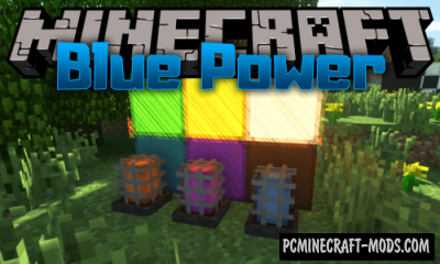 Blue Power - Tech Industrial Mod For Minecraft 1.14.4, 1.12.2