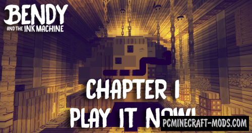 Bendy And The Ink Machine - Chapter 1 Map For Minecraft