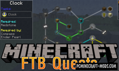 FTB Quests - Quests GUI/HUD Mod For Minecraft 1.16.3, 1.12.2