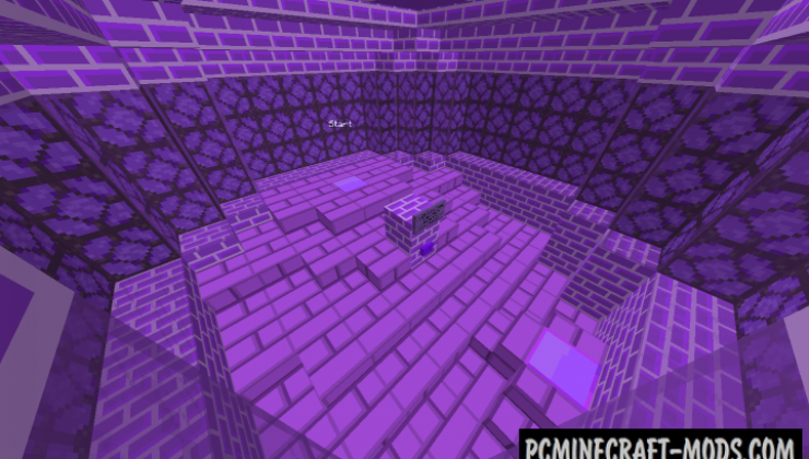 Purple Prison Map For Minecraft