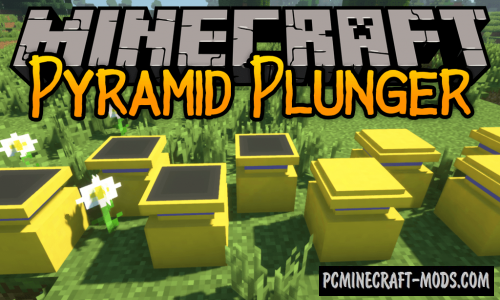 Pyramid Plunder - Adv Blocks Mod For MC 1.15.2, 1.14.4