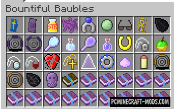 BountifulBaubles Mod For Minecraft 1.12.2