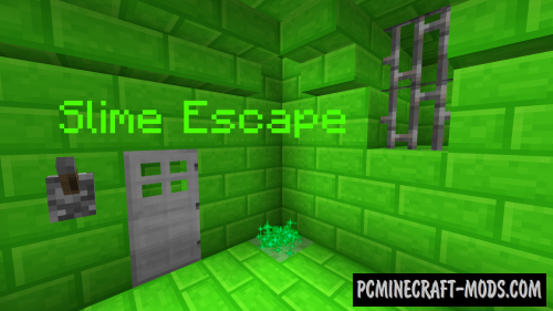 Slime Escape Map For Minecraft