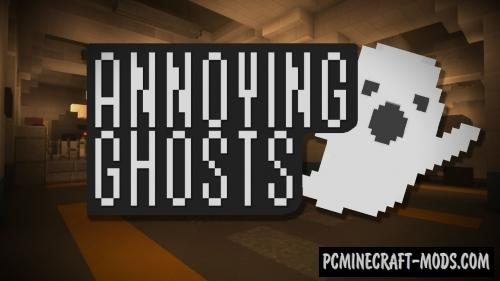 Annoying Ghosts Map For Minecraft