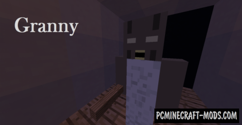 Granny's Ghost Map For Minecraft