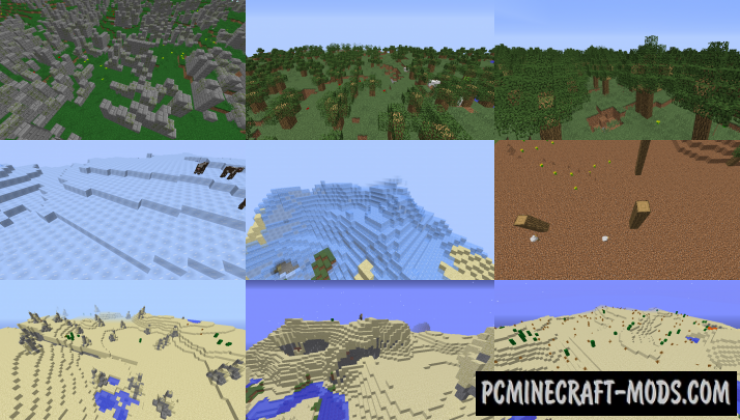 Exploration Expansion Mod For Minecraft 1.12.2