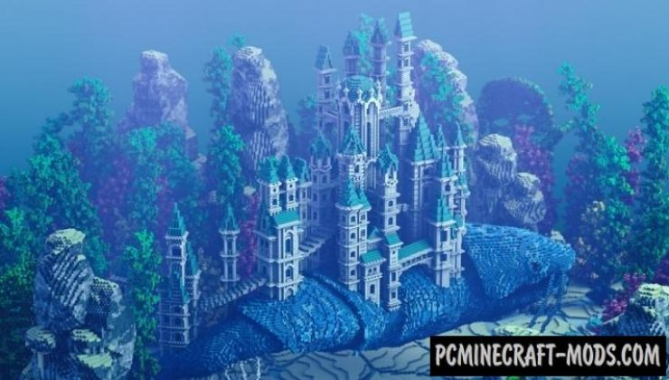 Traveling Atlantis Map For Minecraft