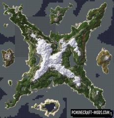 Viking Siege Islands Map For Minecraft