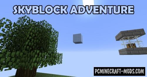 Skyblock Adventure Map For Minecraft
