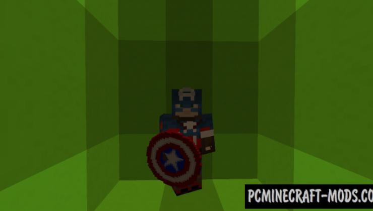 Superheroes X Mod For Minecraft 1.13.2, 1.12.2