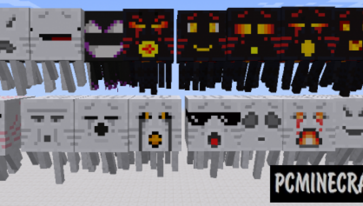 Mobs+ Resource Pack For Minecraft 1.13.2