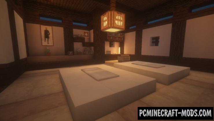 Kaiyo Onsen Map For Minecraft