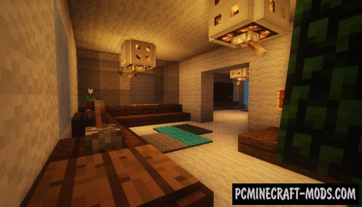 Mansão Moderna Map For Minecraft