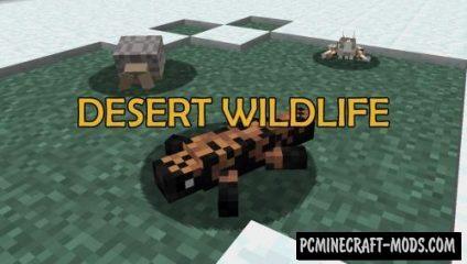 Desert Wildlife Mod For Minecraft 1.12.2