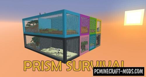 Prism Survival Map For Minecraft