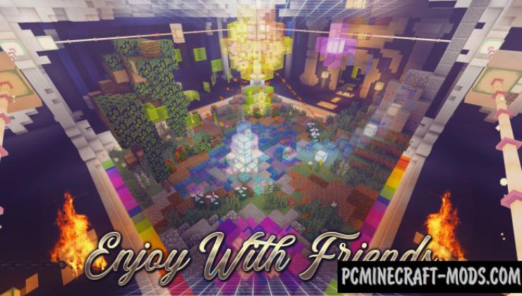 Dance Floor Map For Minecraft