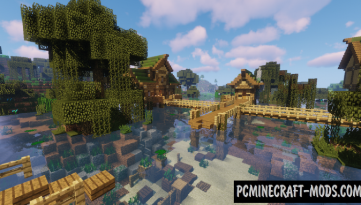Witch Village Map For Minecraft
