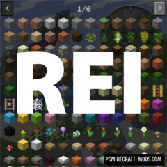 Roughly Enough Items - REI Mod For Minecraft 1.16.5, 1.16.4