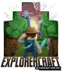 Explorercraft - Adv Search Mod For Minecraft 1.14.4, 1.12.2