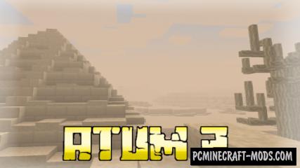 Atum 2: Return to the Sands - Adventure Mod For Minecraft 1.12.2