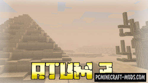 Atum 2: Return to the Sands - Adventure Mod 1.15.2, 1.12.2