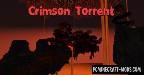Crimson Torrent Map For Minecraft