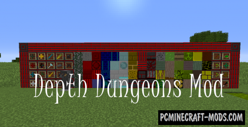 Depth Dungeons Mod For Minecraft 1.12.2