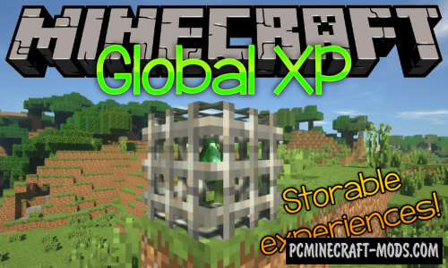 Global XP - New Block Mod For MC 1.16.5, 1.16.4, 1.14.4