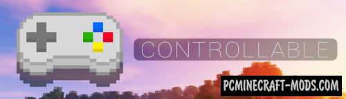 Controllable - GUI Settings Mod For Minecraft 1.16.5, 1.12.2
