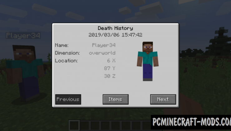 Corpse - Realistic Tweak Mod For Minecraft 1.16.4, 1.15.2