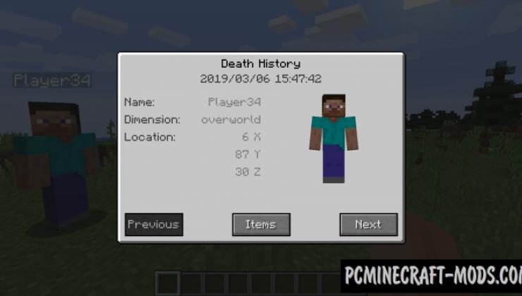 Corpse - Realistic Tweak Mod For Minecraft 1.15.2, 1.14.4