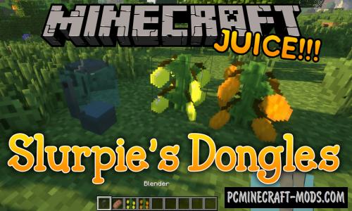 Slurpie's Dongles Mod For Minecraft 1.13.2, 1.12.2, 1.11.2, 1.9.4