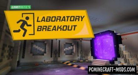 Laboratory Breakout Map For Minecraft