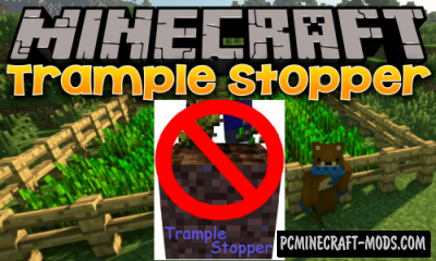 Trample Stopper Mod For Minecraft 1.15, 1.14.4